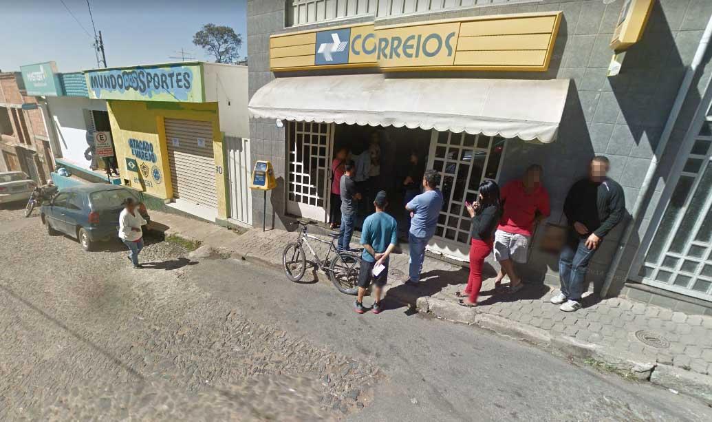 Agência dos Correios é assaltada por bandidos armados em Matozinhos
