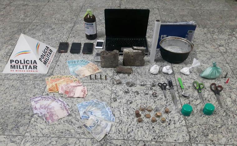 Polícia Militar prende dois homens por tráfico de drogas no Bairro Boa Vista