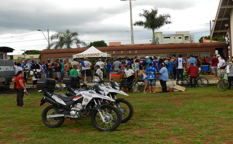 Elevando o esporte local, GE na Praça reuniu a torcida sete-lagoana