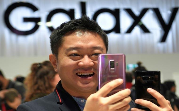 Samsung lançou o Galaxy S9 nesse domingo em Barcelona