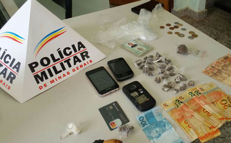 Oito pessoas foram presas por envolvimento com tráfico em Jequitibá