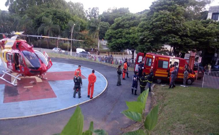 Criança morre em incêndio no Bairro Itapoã e pai fica gravemente ferido