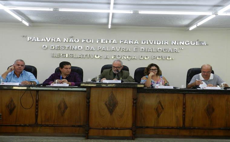 Reunião da Câmara teve alterações na ordem do dia e denúncia de crime ambiental