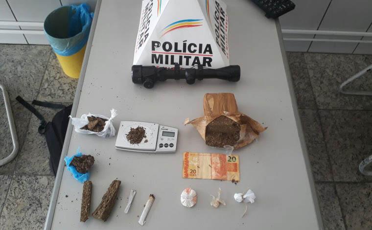 Giro policial - PM cumpre mandados de prisão e prende outro por porte ilegal