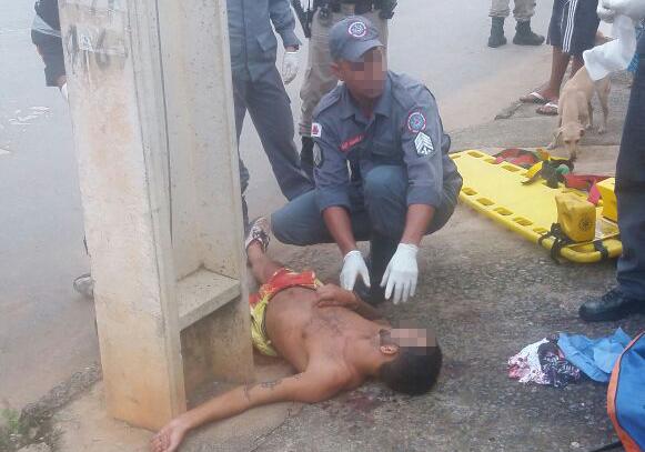 Homem é vítima de tentativa de homicídio no Bairro CDI II
