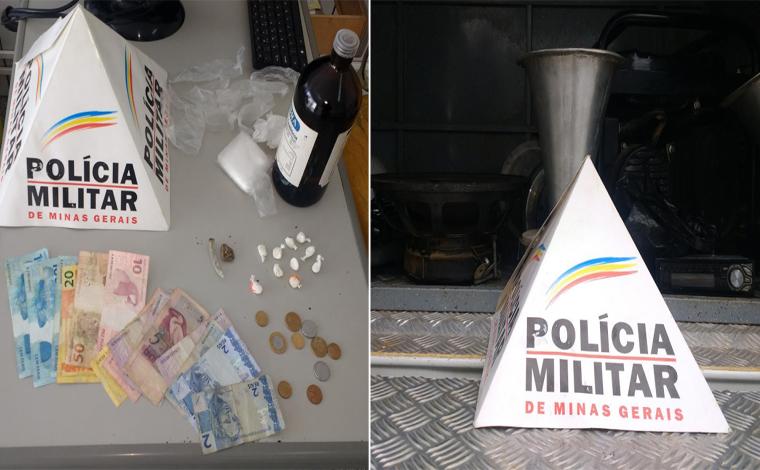 Giro Policial – Traficante é preso no Santa Luzia em operação da PM