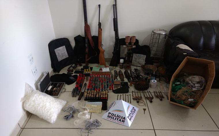 Fazendeiro é preso após denuncia de caça ilegal em Fortuna de Minas