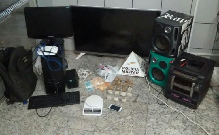 Família é presa com drogas e produtos roubados no Santa Felicidade