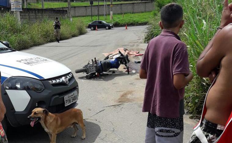 Passageira de moto morre atropelada em acidente no Jardim Universitário