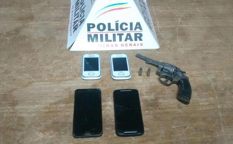 Assaltante de coletivo é preso e celulares recuperados em Pedro Leopoldo