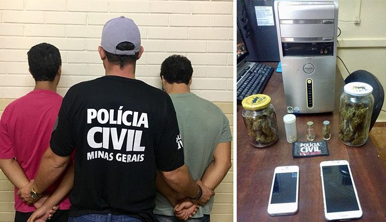 PC realiza operação Caça às Bruxas e prende traficantes em Caetanópolis