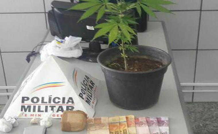 Giro Policial - PM prende quatro pessoas e apreende drogas, munições e réplicas de armas