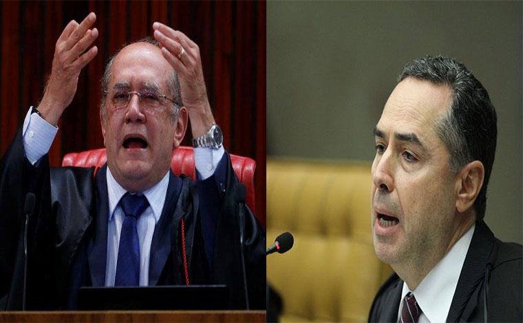 Gilmar Mendes e Luís Roberto Barroso batem boca no STF