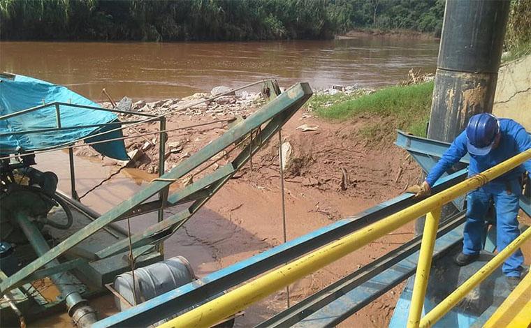 Saae suspende fornecimento em Sete Lagoas por nível baixo do Rio das Velhas