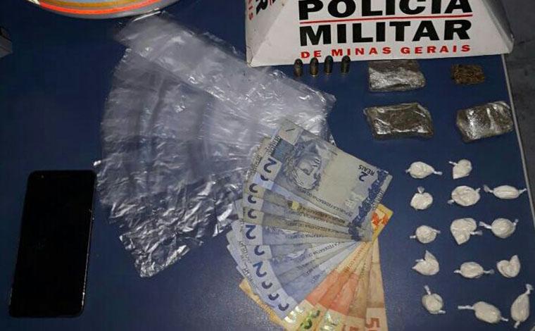 Traficante é preso em flagrante com drogas em Sete Lagoas