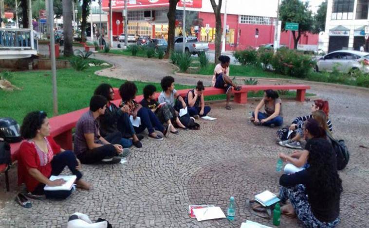 Genocídio Negro é tema de debate entre jovens na Lagoa Boa Vista