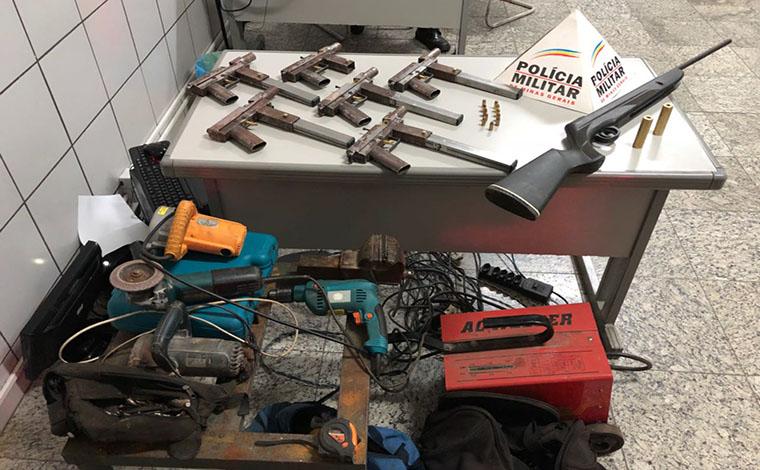 Fabricantes ilegais de armas de fogo são presos em Sete Lagoas