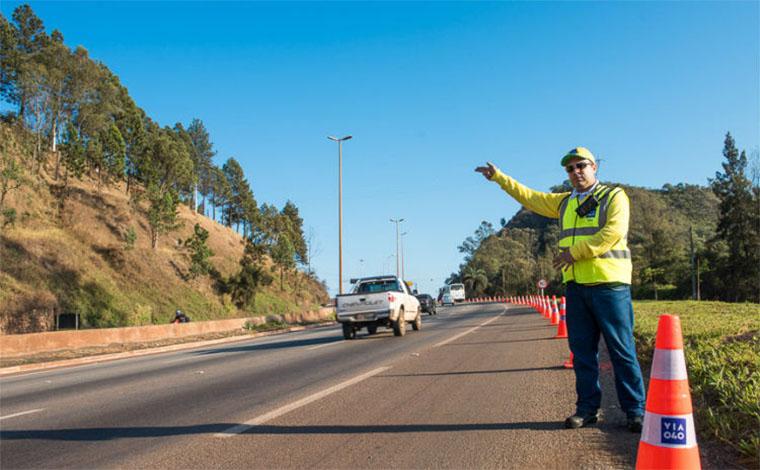 BR 040 recebe intervenções em Sete Lagoas e Esmeraldas durante a semana