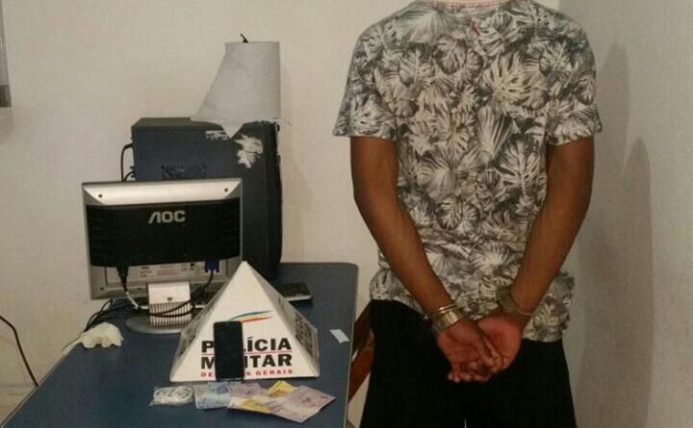 Homem acusado de uma série de roubos é preso em Sete Lagoas