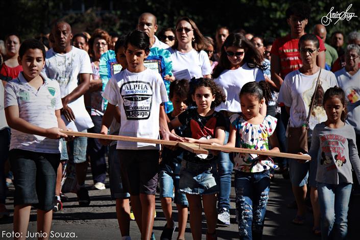 Fiéis pedem fim da violência em Campanha da Fraternidade na cidade