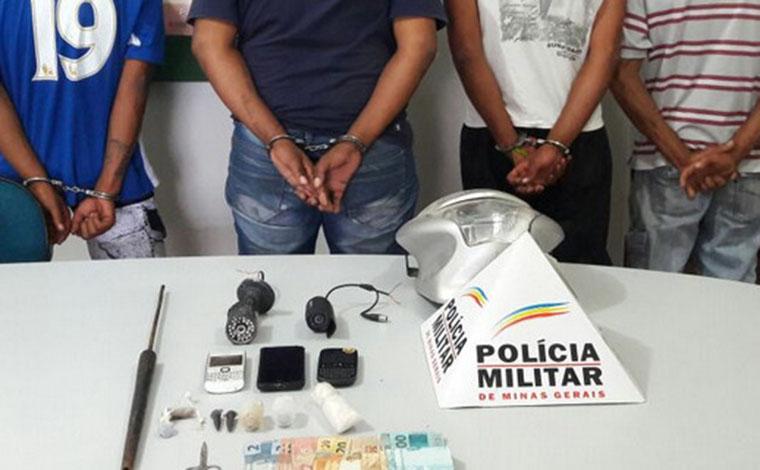 Giro Policial – Quadrilha é presa com drogas em Fortuna de Minas