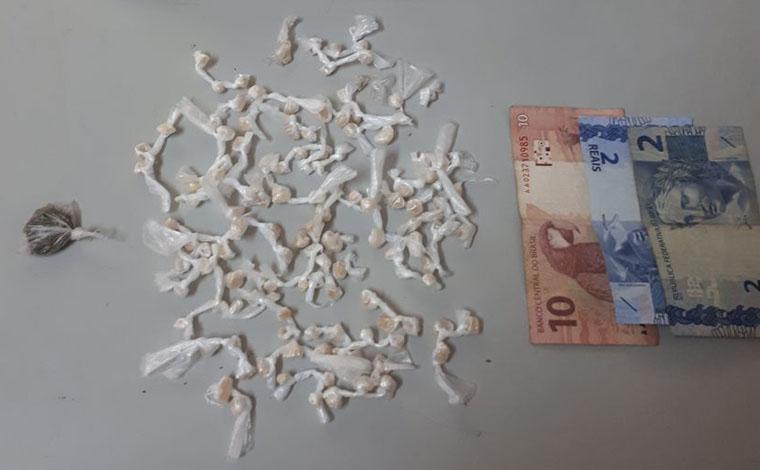 Menor é aprendido com mais de 100 pedras de crack em Pedro Leopoldo