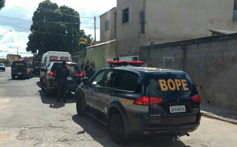 PM realiza operação em cidades da região para coibir o tráfico