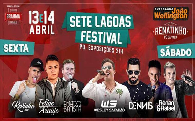 Sete Lagoas Festival tem últimos dias de venda antecipada