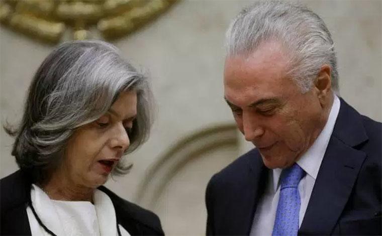 Carmem Lúcia assume a presidência da república por conta de viagem de Temer