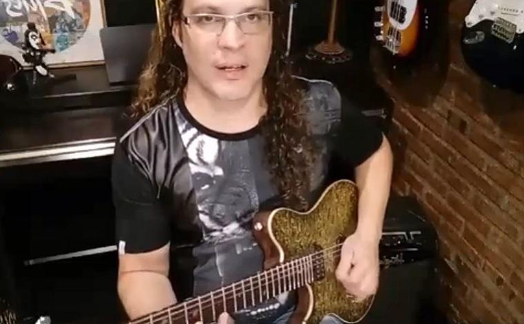 Músico Arnon Junior lança conteúdo na Web voltado para amantes da guitarra