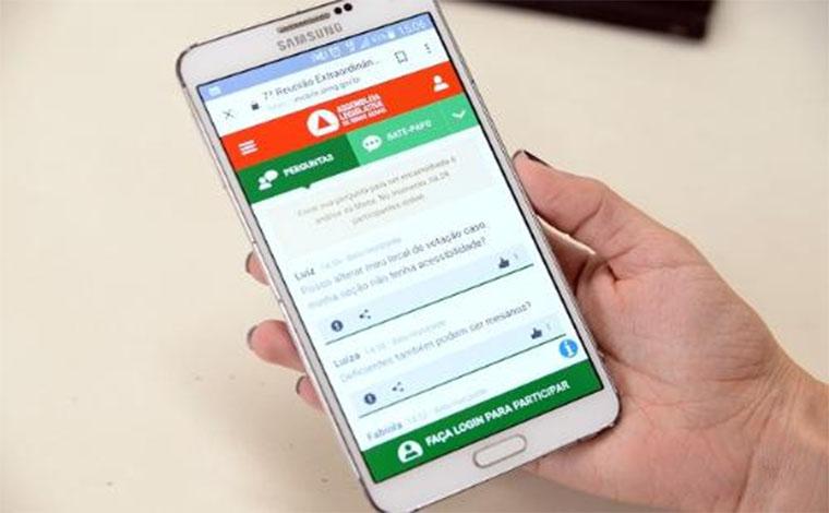ALMG lança canal que permite participação de sessões via internet