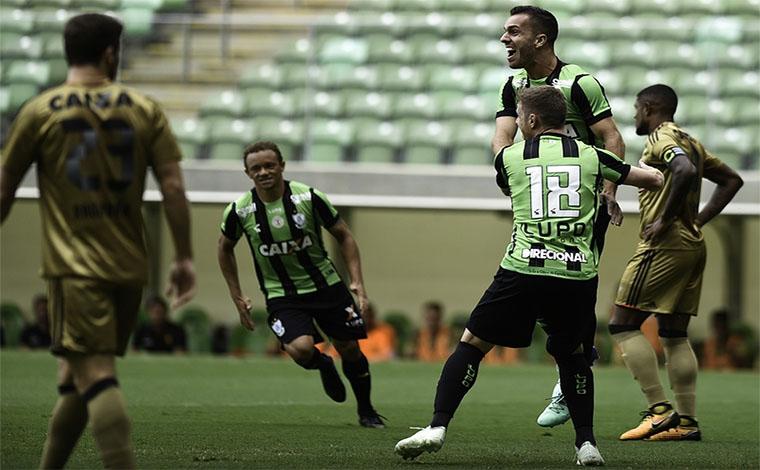 América vence bem na volta à Série A do Campeonato Brasileiro
