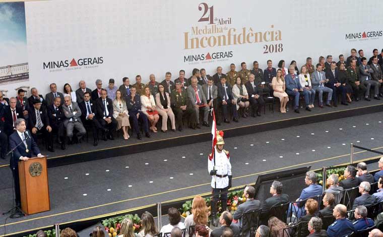 Medalha da Inconfidência valoriza atuação de 170 homenageados