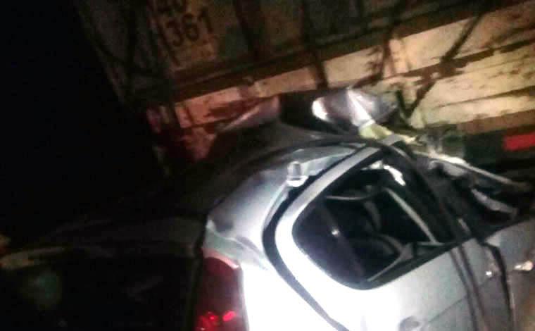 Acidente deixa uma pessoa morta na BR-040, próximo à Oca do Milho
