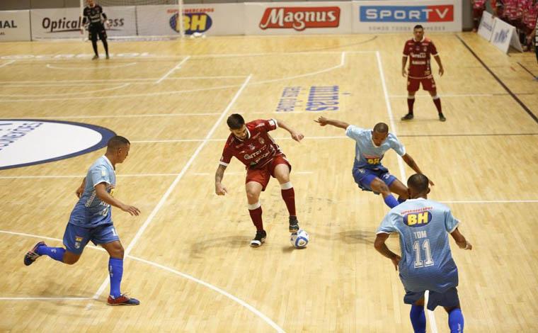 Futsal do Minas Tênis Clube se prepara para quinto jogo na Liga Nacional