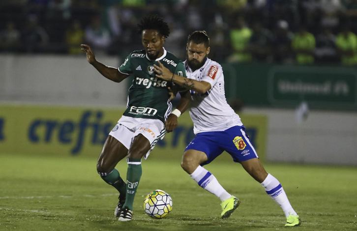 Cruzeiro joga melhor, mas fica no 0 x 0 com o Palmeiras