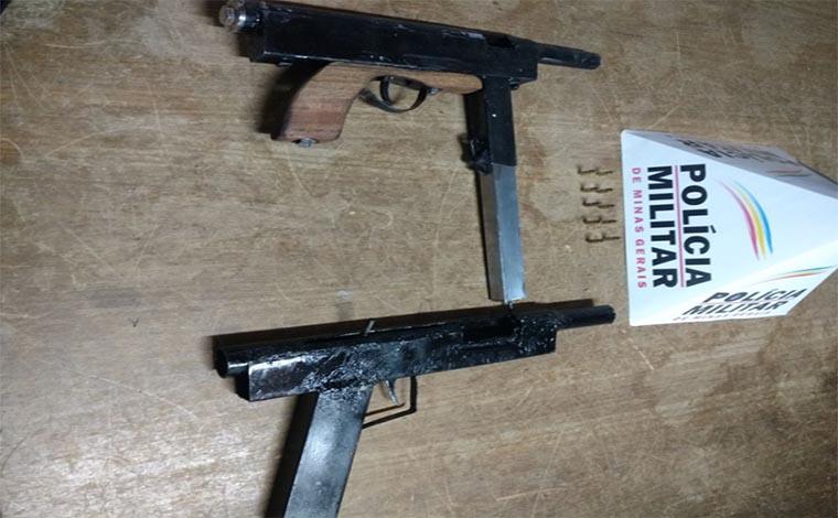 Homem é preso com munições e armas de grosso calibre em Matozinhos