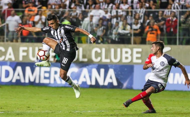 Galo luta, mas é eliminado da Copa Sulamericana pelo San Lorenzo