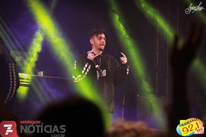 Veja fotos do Festival Hip Hop realizado na Arena do Shopping Sete Lagoas