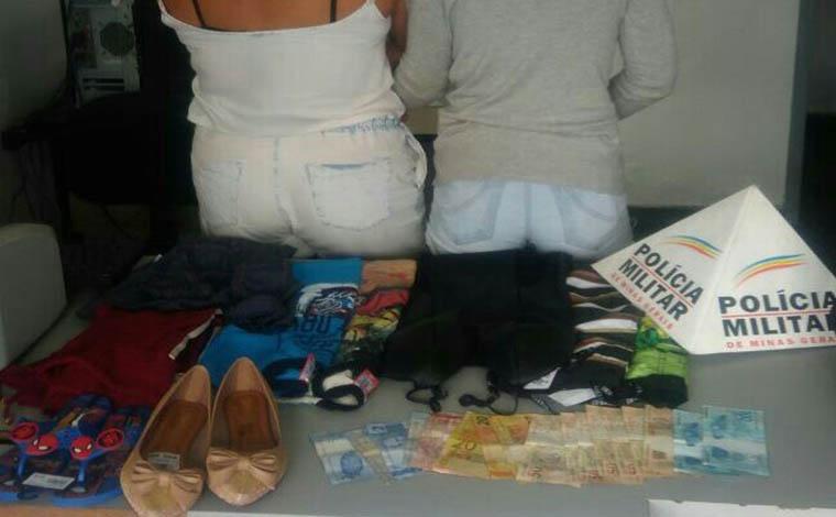 Giro Policial – Mulheres são presas por roubo de loja no Centro de Sete Lagoas