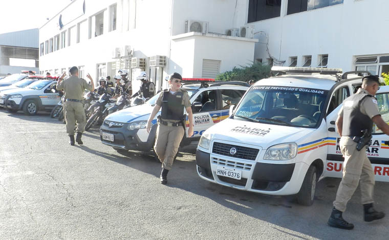 Polícia Militar inicia megaoperação durante 24 horas em todo o país