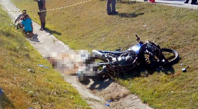 Motociclista morre em acidente na MG 424, em Vespasiano