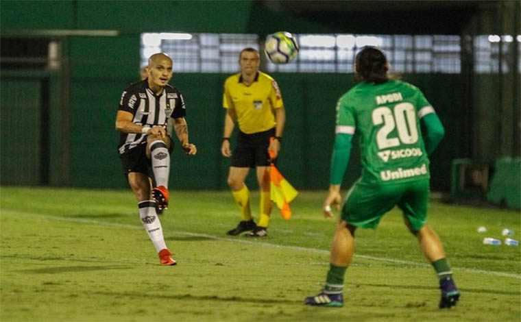 Galo é eliminado pela Chapecoense sem marcar gols na Copa do Brasil