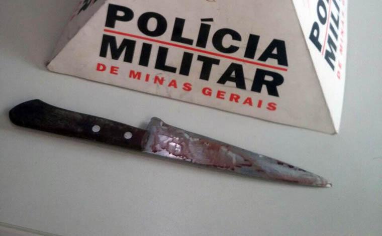 Idosa é vítima de vários golpes de faca do cônjuge após discussão