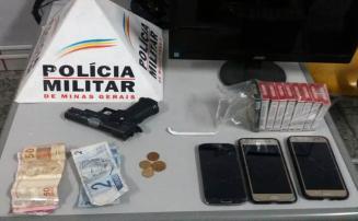 Giro Policial – Ladrões são presos em ocorrências  no Belo Vale e no Centro