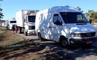 Por liminar, Justiça determina que caminhoneiros liberem tráfego na BR-040