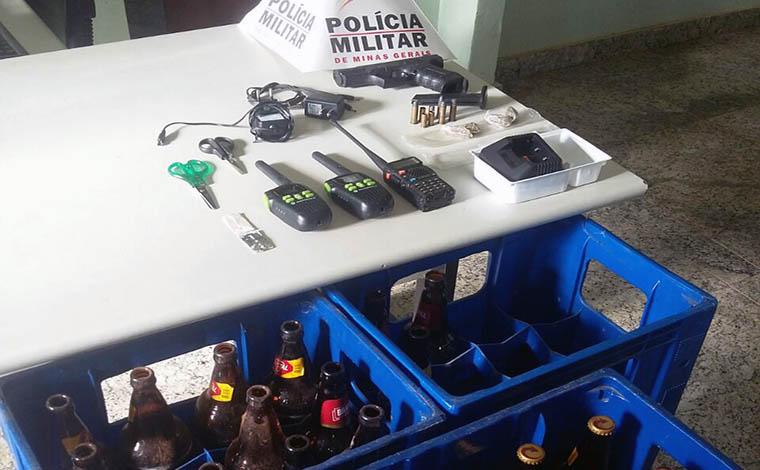 Giro Policial – PM prende homem por receptação em Jequitibá e traficantes em Sete Lagoas