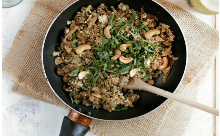 Blogueira dá dicas sobre como preparar um delicioso tropeiro vegano