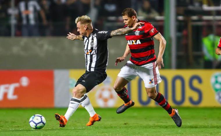 Sem Ricardo Oliveira, Atlético perde para o Flamengo no Horto