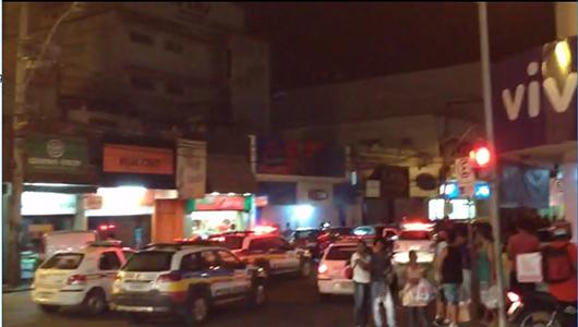 Assaltantes trocam tiros com a Polícia e são presos no Centro de Sete Lagoas